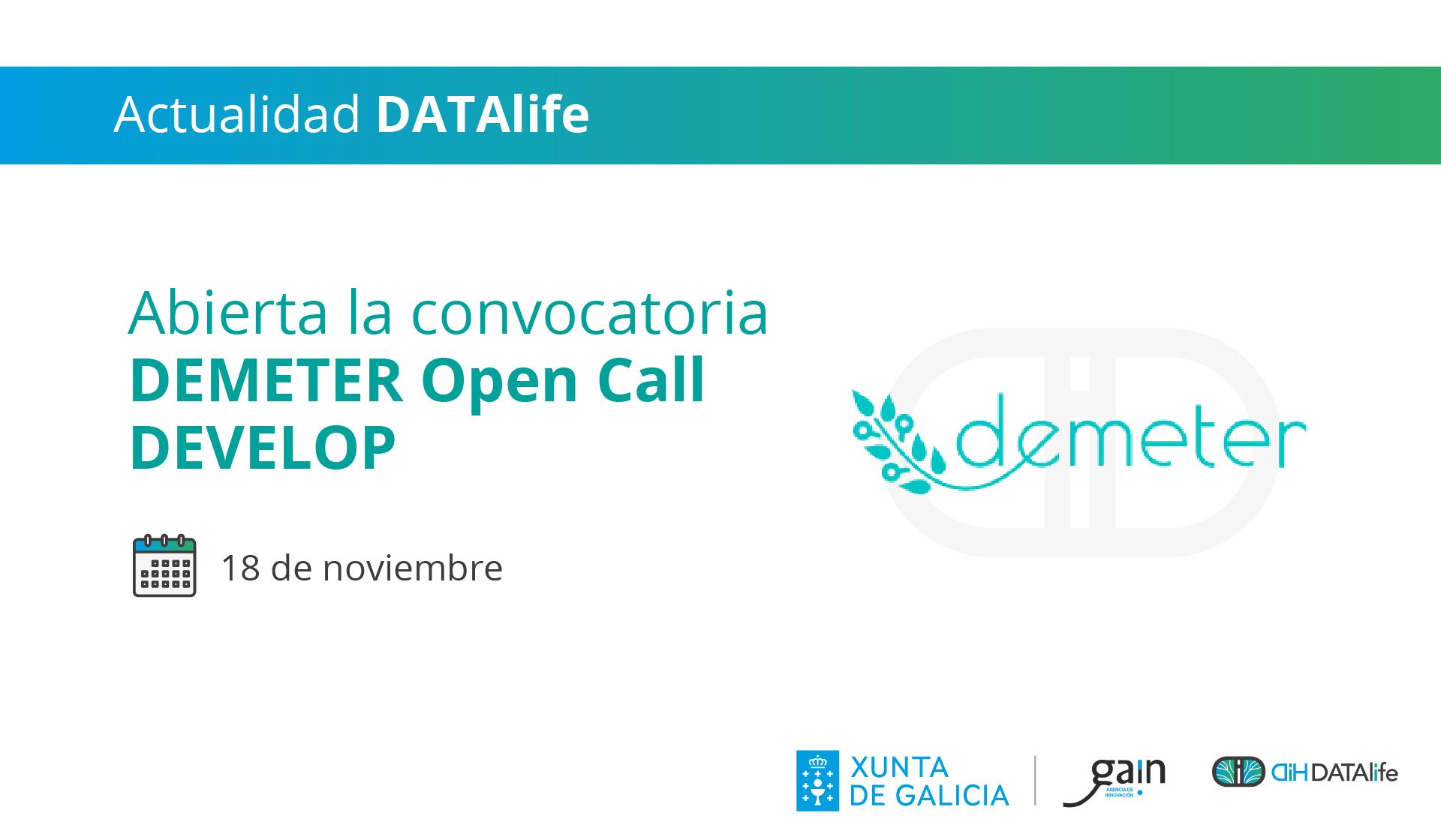demeter open call